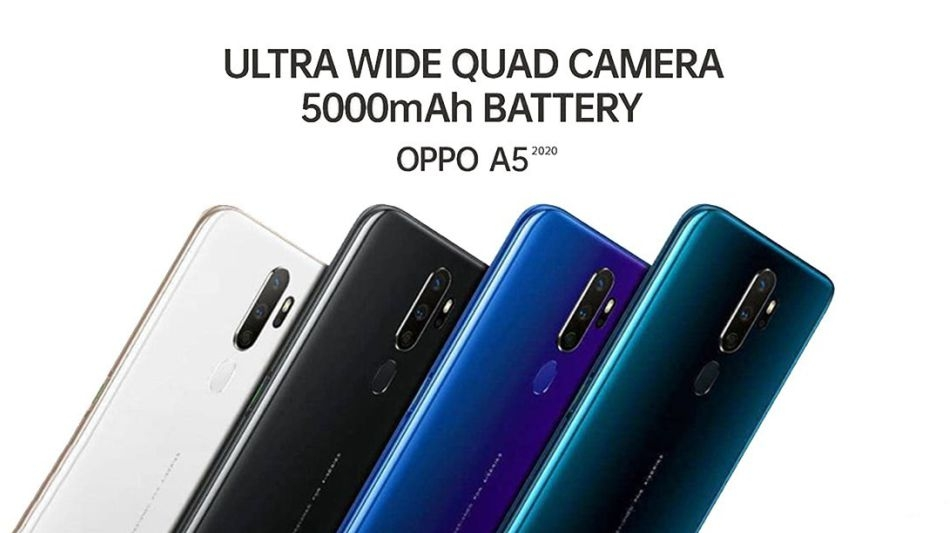 Oppo A5 (2020) goes on sale Amazon.in purchase now India